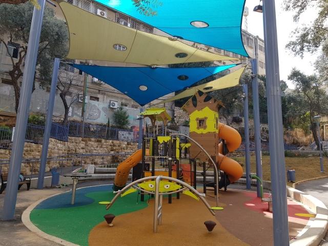 גן נתן קסל חיפה