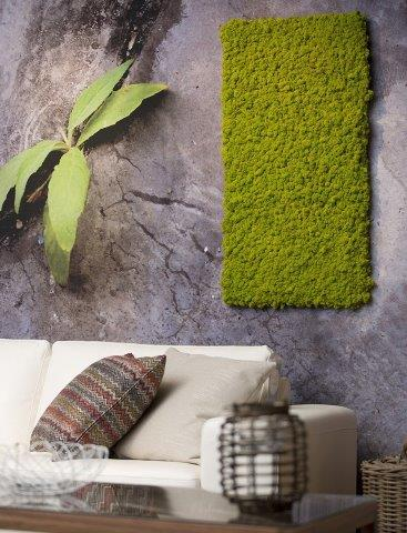 שילוב קיר ירוק בבית