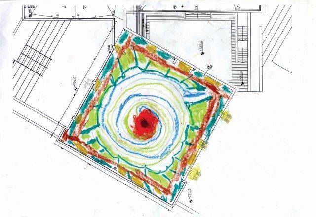 תוכניות לגג ירוק בבית ספר אור תורה בשכונת רמות בירושלים