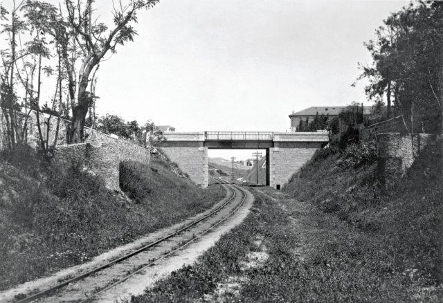 גשר שלוש והמסילה בתקופת המנדט