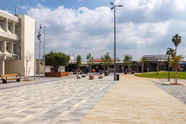כיכר העיר קרית מלאכי